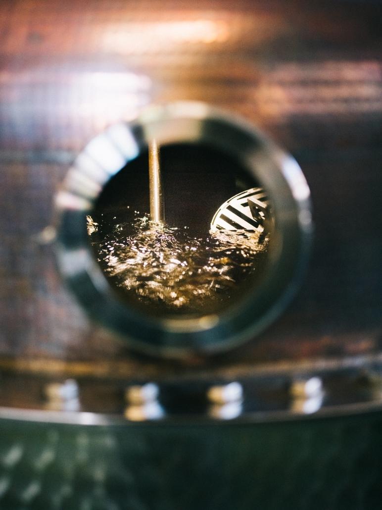 Glasauge im Brennkessel