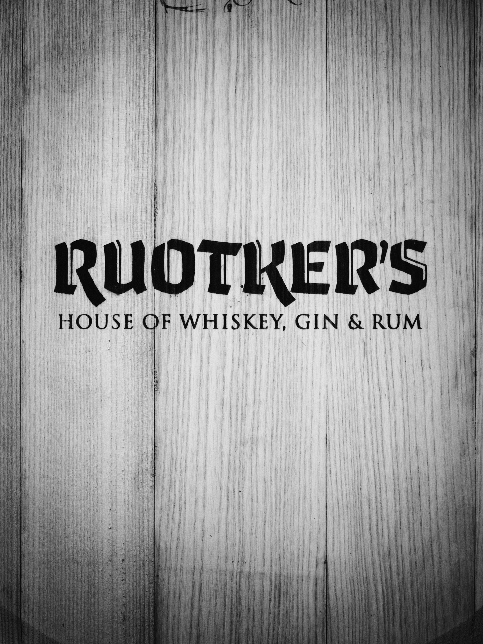 Ruotkers - house of whiskey gin and rum